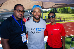 Golden Tate Football Camp