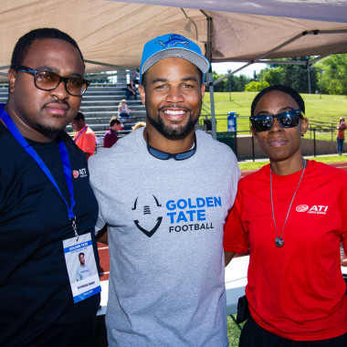 Golden Tate – Event Photography by Tony Lafferty
